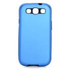 Stylish Protective Back Case for Samsung Galaxy S3 i9300 - Blue + Black