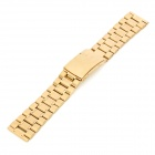 Replacement QG-012 Stylish Steel Wrist Watch Band - Golden