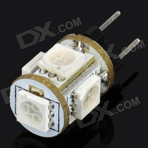 G4 1.2W 65-76LM 515-530nm Green 5-SMD 5050 LED Light Bulb (12V)