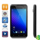 "X825A Android 4.0 WCDMA Bar Phone w/ 4.3"" Capacitive, GPS, Wi-Fi and Dual-SIM - Black"