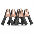 Clipes carro 100A Alligator Copper Galvanização Bateria / Clamp - Black (5-Piece Pack)