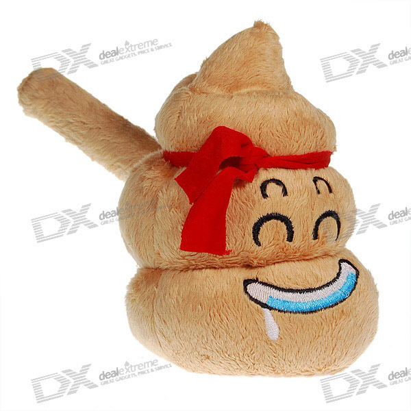 Funny Poop Face Stress Relieving Hammer with Sound Effects