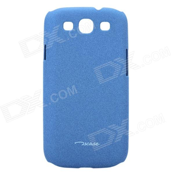 Protective PC Back Case for Samsung Galaxy S3 i9300 - Blue protective hollow out matte pc back case for samsung galaxy s4 zoom sm c1010 blue