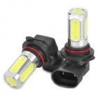 9005 7.5W 330~380LM 5-LED White Light Car Fog Lamp (2-Piece Pack)