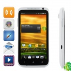 """One Android 4.0 WCDMA 3G Smartphone w/ 4.7"""" Capacitive Screen, GPS, Wi-Fi and Dual-SIM - White"""