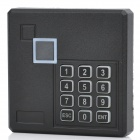 Password Access Control ID Card Reader - Black + Blue