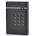 Password Access Control ID Card Reader - Black