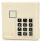 Password Access Control Device ID Card Reader - White