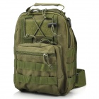 Multifunktions-Outdoor Travel wasserdichte 600D Single-Shoulder Bag - Army Green