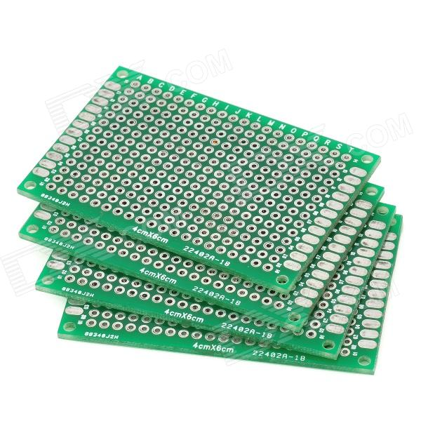 Glass Fiber Board : Double sided glass fiber prototyping pcb universal board