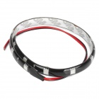 2.5W 12x5050 SMD LED Green Light Car Decoration / Daytime Running Flexible Strip Lamp (12V)