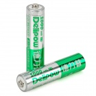 Delipow Rechargeable 1.2V 1000mAh AAA Battery (2-Piece Pack)
