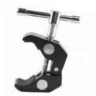 Crab Claw Stil Drehgriff Stativ Monopod Clamp - Black
