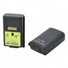 "Dual 3.6V ""4800mAh"" Battery Packs w/ USB Charging Cradle / Cable for Xbox 360 Wireless Controller"
