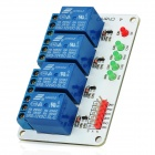 4-Channel 12V Relay Module Expansion Board for Arduino (Works with Official Arduino Boards)