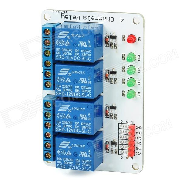 49ezk - Brand New 5V 4 Channel Relay Module for Arduino