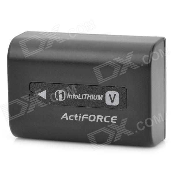 NP-FV50 Genuine Sony 980mAh 6.8V Li-ion Replacement Video Camera Battery - Black sony cp s15 s 15000 mah