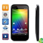 """G23 Android 2.3 WCDMA Smartphone w/ 4.3"""" Capacitive Screen, GPS, Wi-Fi and Dual-SIM - Black"""