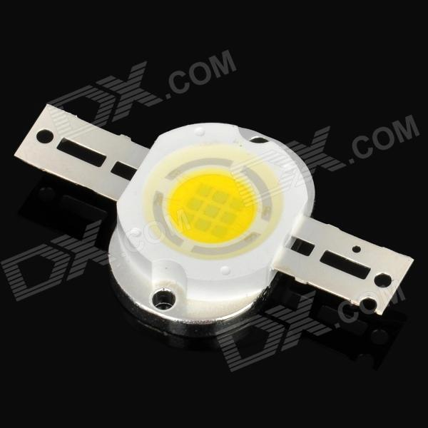 10W 900LM Warm White LED Light - Silver