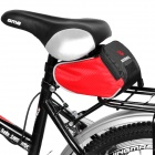 Roswheel Cycling Bicycle Bike Saddle Seat Tail Bag - Red + Black