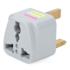 Travel UK Typ Power Plug Adapter Converter Outlet Sockel - Grau (250V)