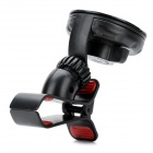 Universal Clip-On Car Mount Holder for Iphone 4 / 4S / Samsung / HTC + More - Black + Red