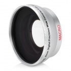 46mm 0.45X Digital Camera Pro Precision Wide Angle Conversion Lens w / Macro - Plata