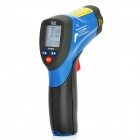 "1.4"" LCD CEM DT-8862 Contactless Infrared Thermometer w/ Dual Laser - Blue + Deep Grey (1 x 9V)"