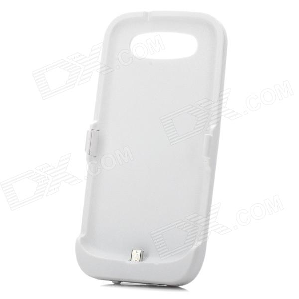 Rechargeable 3500mAh External Power Battery Back Case for Samsung Galaxy S3 i9300 - White 3 6v 2400mah rechargeable battery pack for psp 3000 2000