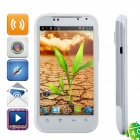 "G88a Android 4.0 WCDMA Smartphone w/ 4.3"" Capacitive Screen, GPS, Wi-Fi and Dual-SIM - White"