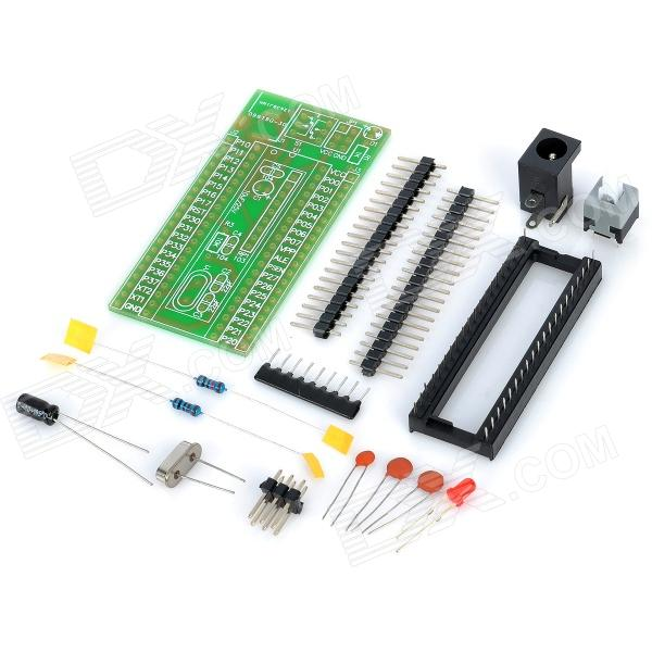 DIY AT89S52 Microcontroller Development Board Set for Arduino (Works with Official Arduino Boards)