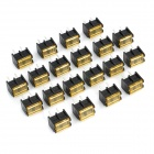 2-Pin Screw Terminal Block Connector with Cover (20-Piece Pack)
