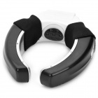 Portable USB Vibration Cooling Neck Massager - Black (2 x AAA)