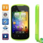 """G22 Android 2.3 GSM Bar Phone w/ 3.5"""" Capacitive Screen, Quad-Band, Wi-Fi and Dual-SIM - Green"""