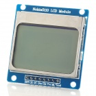 "1.6"" Nokia 5110 LCD Module w/ Blue Backlit for Arduino (Works with Official Arduino Boards)"