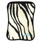 Protective Leopard Pattern Nylon Case for Samsung P1000 - Black + Grey