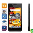 "Huawei U9200 Ascend P1 Android 4.0 WCDMA Barphone w/ 4.3"" Capacitive Screen, GPS and Wi-Fi - Black"