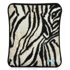 Tiger Skin Pattern Neoprene Pouch for the New Ipad / Ipad 2