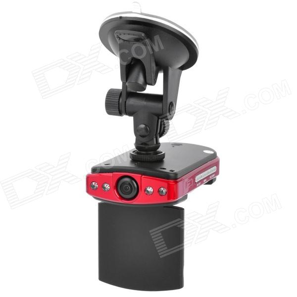 "HP103 300 KP 2X Zoom CMOS Wide Angle Car DVR Camcorder w/ 2.4"" TFT / AV-out / SD"