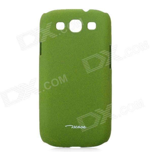 TS-CASE Protective PC Plastic Case for Samsung i9300 Galaxy S3 - Army Green cardphone case