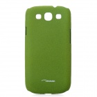 TS-CASE Protective PC Plastic Case for Samsung i9300 Galaxy S3 - Army Green