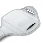 Stylish Sports Armband w/ Velcro Tape for Samsung Galaxy S3 i9300 - Grey + Black