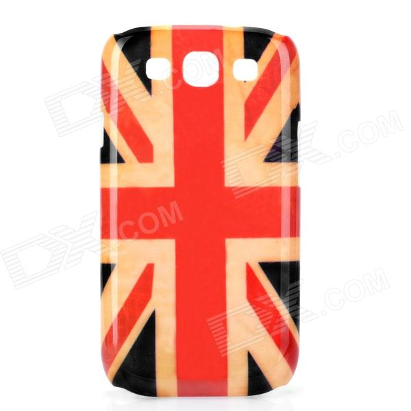 Retro The UK Flag Pattern Protective Plastic Back Case for Samsung Galaxy S3 i9300 retro the uk national flag pattern protective plastic back case for iphone 4 4s red white