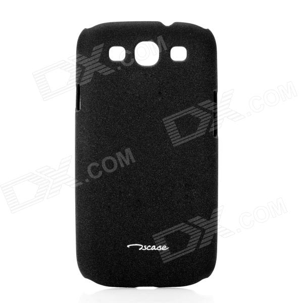 Oscase Quicksand Protective Back Case for Samsung Galaxy S 3 i9300 - Black 8x zoom telescope lens back case for samsung i9100 black