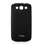 Oscase Quicksand Protective Back Case for Samsung Galaxy S 3 i9300 - Black