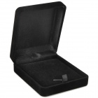Square Corduroy Gift Box - Black