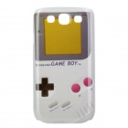Vintage Game Boy Style Protective Plastic Back Case for Samsung Galaxy S3 i9300 - Grey