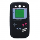 Vintage Game Boy Style Protective Soft Silicone Case for Samsung Galaxy S3 i9300 - Black