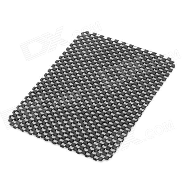 PVC Auto Car Soft Anti-slip Mat - Black (15 x 11cm)