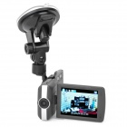 "ZEA-MD770 3.0MP CMOS Wide Angle Car DVR Camcorder w/ 2.8"" TFT / Mini HDMI / TF"